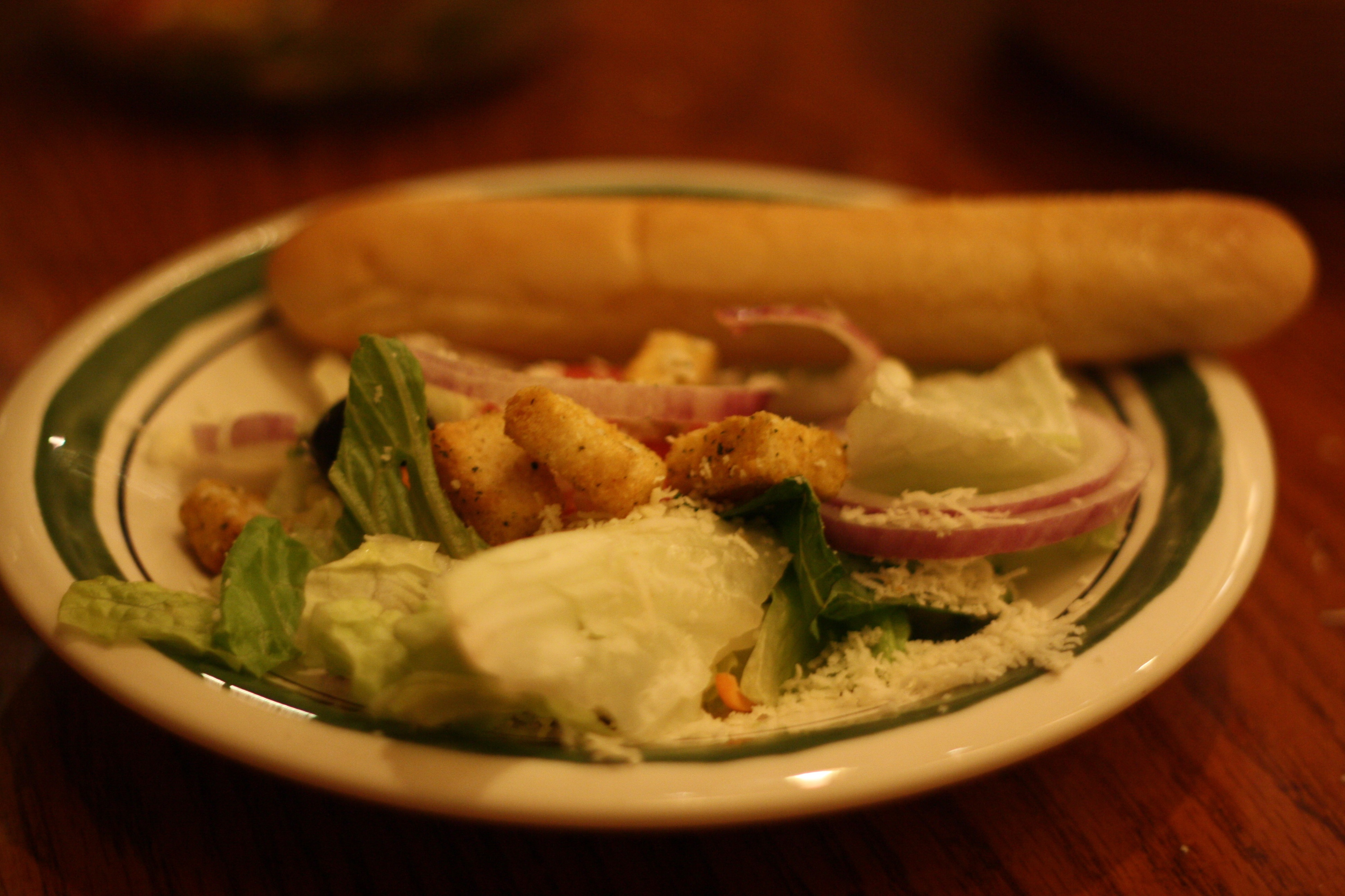 Soup, Salad, and Breadstick(s)