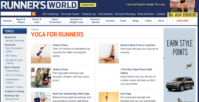 runners world case study Runner's world shares a kinesiology taping strategy for runner's knee subscribe to 3v: more shows from 3v: join if this is the case whats black, green, purple, even yellow tape do and for color has no significance if you put info out you probably should do so.