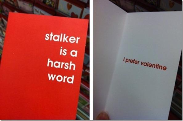 papyrus stalker valentine card