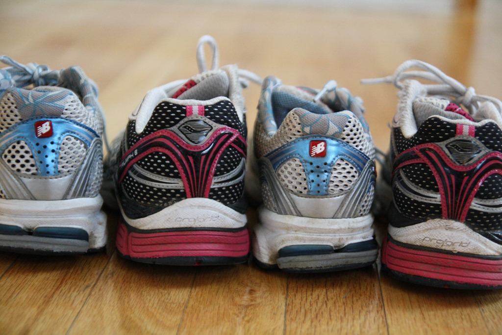 signs you need new running shoes