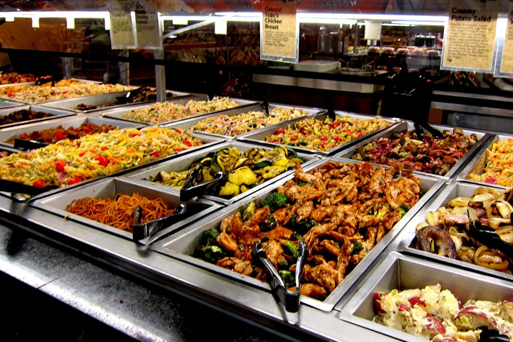 The best whole foods hot bar is in for Organic food bar