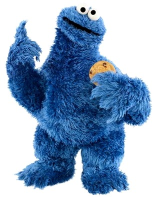 Cookie Monster Standing