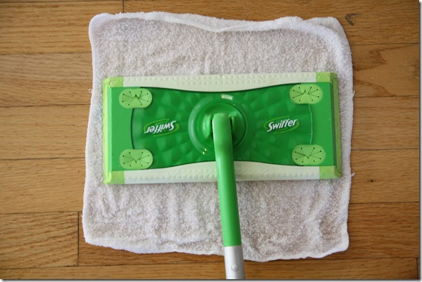 Make Your Own Swiffer Sweeper Pads Solution