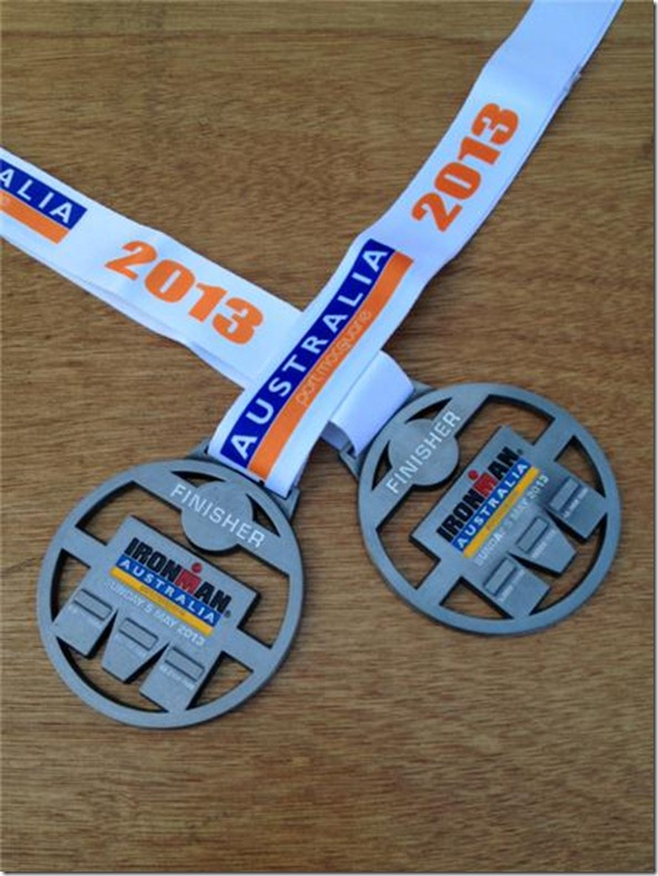 Ironman-Australia-results-2013-finisher-medals