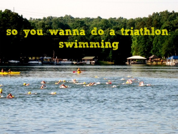 swim triathlon