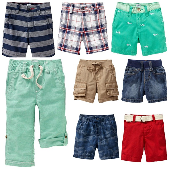 baby boy picks - bottoms - from old navy