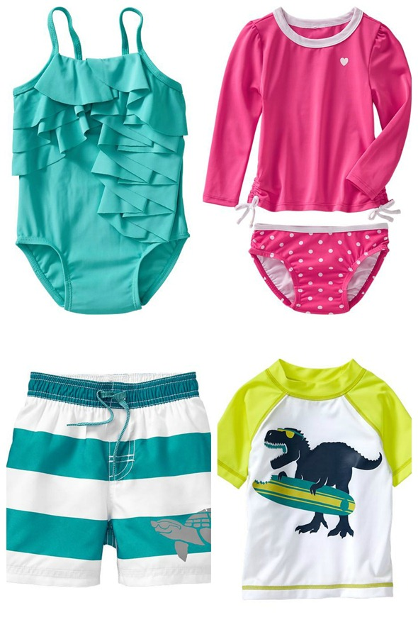 old navy toddler swimswear