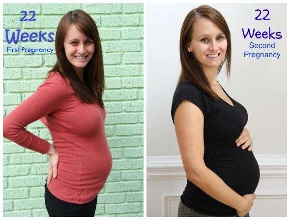 22 weeks second pregnancy