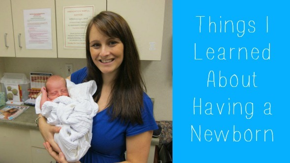 Things I Learned About Having a Newborn