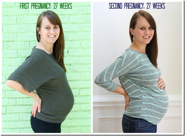 27 weeks second pregnancy