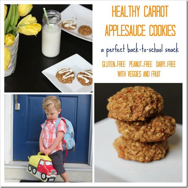 applesauce oatmeal cookies 2