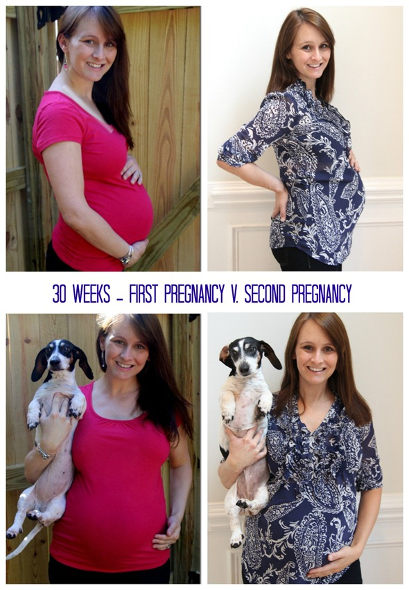 first v second pregnancy