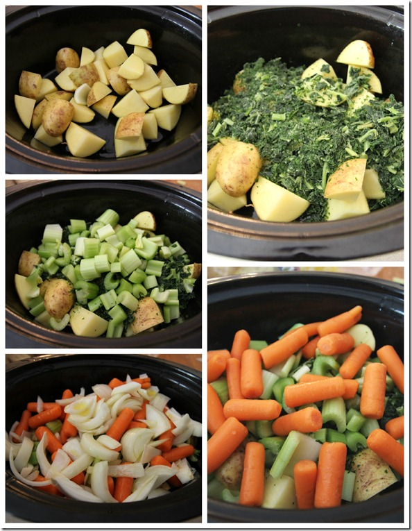 crockpot veggies