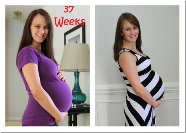 first preg v second