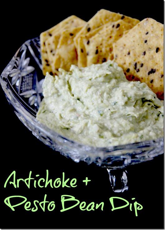 Artichoke + Pesto Bean Dip