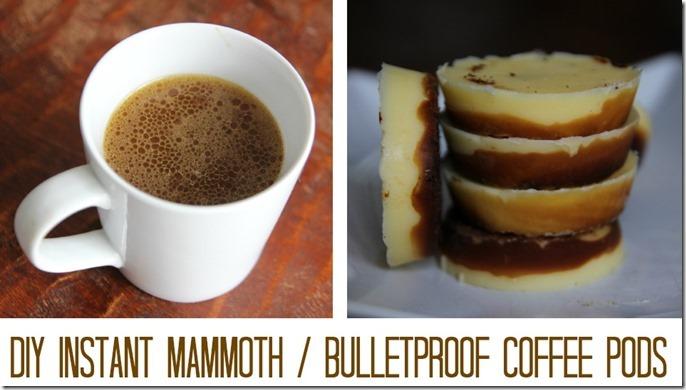 diy mammoth bulletproof coffee pods