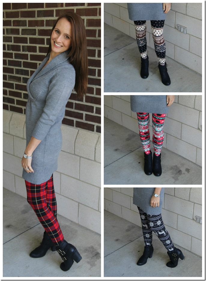 leggings collage